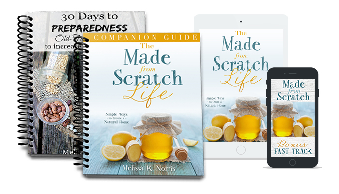 Made from scratch freebies
